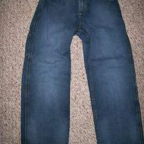 Boy's  Gap Carpenter Jeans Size 14 Husky Good Used Condition Photo