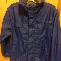 Boy's Gap Kids Blue Jacket Hooded Size l(10) Photo