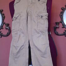 Boy's Gap Kids Size 6 Slim Khaki Cargo Pants Euc Photo