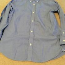 Boy's Gap Light Blue L/s Button Down Dress Shirt Size Xxl Photo