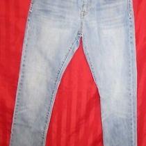 Boy's Gapkids 1969 Slim Fit  Straight Leg Jeans Med Wash Size 12 Reg Excellent Photo