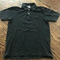 Boy's Lacoste Black Short Sleeve Polo Shirt - Size 12 Photo