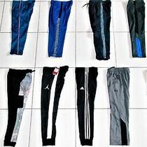 Boy's Size 8 Small Under Amour Nike Adidas & Gap 12 Pair Joggers & Pants Lot Photo