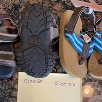 Boys Toddler Sandals Gap  Size 6 & Gymboree Size 5-6 Photo