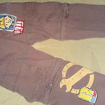 Boy's Tv Mania Bob Baumeister Gray Pants/shorts  in One  (Waist Sz.--16