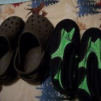 Boy's Water Shoes & Croc Like Shoes Photo