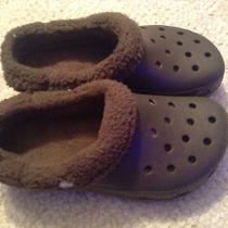 Boy's Winter Crocs - Size 4m Photo