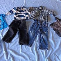 Boy Toddler Clothing 18m to 2t Lot Hurley Levis and Others Photo