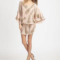 Boyod Blush Pink Beaded Dress Size Small Photo