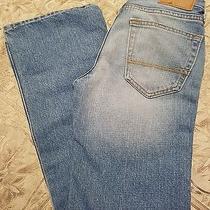 Boys 12 Classic Straight Boot Cut Abercrombie Kids Denim Jeans  Photo