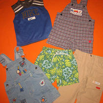 Boys 12m Nike Baby Gap Nursery Rhyme Shortall Infant Shirt Size 12 M Month Mos  Photo