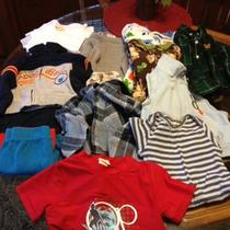 Boys 18m 18 Month Clothing Lot Carters Gap Oshkosh Nice Items Clean Excellent  Photo