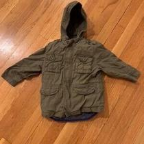 Boys 3 in 1 Gap 2t Green Cotton Coat. Removable Warm Blue Vest Photo