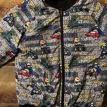 Boys 365 Kids Expression Reversible Bomber Jacket Size 6 Photo