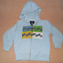 Boys 3t Baby Blue Billabong Zipper Hoodie Photo