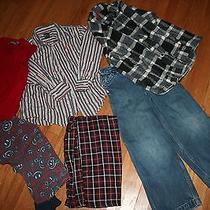 Boys 7/7slim Clothing Lot Shirts Pant Pajamas Sweater Vest Gap Old Navy Etc Photo