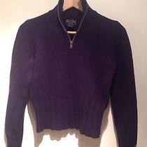 Boys' Abercrombie Pullover Half Zip Sweater 100% Lamb Wool. Photo