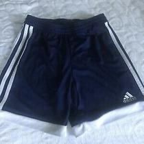 Boys Adidas Climacool Shorts Size S Navy Photo