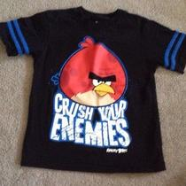 Boys Angry Birds Shirt Size 6 Photo