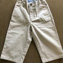 Boys Baby Gap Khaki Pants Sz 18-24 Months  Adj. Waist Photo