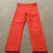 Boys Baby Gap Orange Corduroy Pants 5t 5 Years Photo