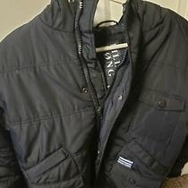 Boys Billabong Snow Jacket Size L Black Photo