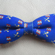 Boys Bow Tie W/ Adjustable Strap Royal Blue & Red  W/ Drums Cute Avon Product Photo