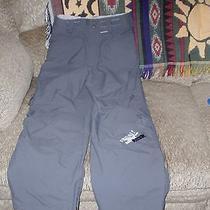 Boys Burton Gray Ski Water Wind Snowboard Mobile Pants M Photo