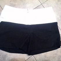 Boys by Band of Outsiders White Black Shorts  Acne Photo