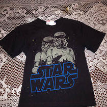 Boys Clothes Gap Kids Junk Food Star Wars Short Sleeve Shirt Xs 4-5 Photo