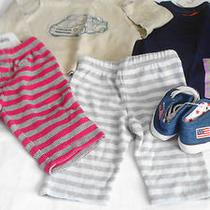 Boys Clothes Lot of 5 Items Inc. Shoes Size 0-3 Months New Photo