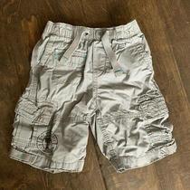 Boys Gap Gray Cargo Shorts Size 3t 3 Yrs Euc Photo