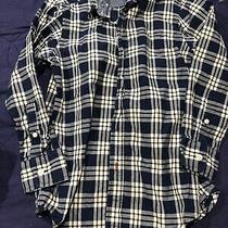 Boys Gap Kids Small (6/7) Long Sleeve Button Down Dress Shirt Blue Plaid Fall Photo