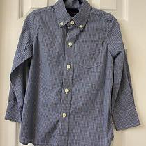 Boys Gap Non-Iron Button Down Shirt Size Xs Photo