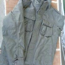 Boys Gap Size 10 Large Winter Coat Olive Green Jacket Clothing Outerwear Look Photo