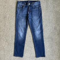 Boys Gap Stretch Slim Jeans in Size 14 With Adjustable Waist Photo