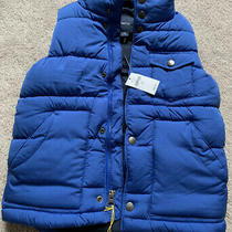 Boys Gap Vest Blue Xs Size 4-5 Photo