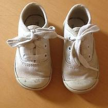 Boys' Girls' Toddlers' Keds White Canvas Lace Sneakers Sz 4 Medium  Photo