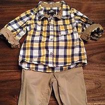 Boys h&m 6-9 Months Outfit With Hat and Shoes Photo