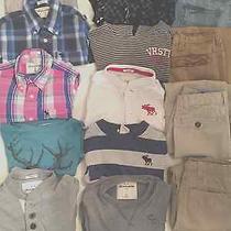 Boys Huge Lot of Back to School Clothes Size Medium/8/10    (10 Shirts 4pants) Photo