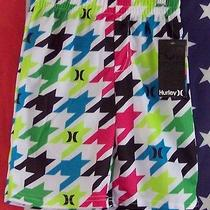 Boys Hurley Board Swim Shorts Size 5 New With Tags  Photo