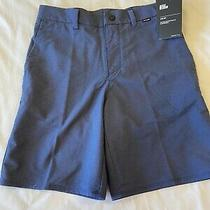 Boys Hurley Nike Golf Walk Shorts Size 26 Size 10-12 Nwt Photo