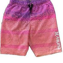 Boys Hurley Swim Trunks Size 7/8 Photo