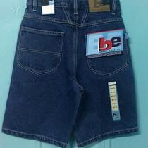 Boys Jean Shorts Size 14 Denim Kids Bronx Express Nwt Photo