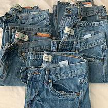 Boys Levis 550 Relaxed Jeans Sz 20 Lot of 5 Photo