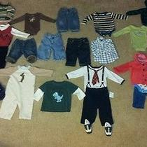 Boys Name Brand 26pc Lot Size 6m Gymboreerl Polobaby Gapnursery Rhyme Euc Photo