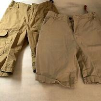 Boys Old Navy Khaki Shorts Lot Size 14 Photo