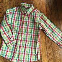 Boys Orient Expressed Button-Down Oxford Shirt Size 5 Photo