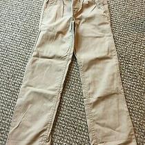 Boys Pants Size 8 Old Navy M Medium Khaki Elastic Waist Nwt New Beige Tan Spring Photo