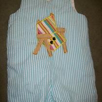 Boys Potato Saks Beach Chair Romper Size 3t Photo
